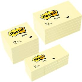 Post-it® Notes, jaune, paquet avantageux