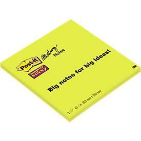 Post-it® Super Sticky Meeting Notes 5858-SP, 2 x 45 Blatt, XXL-Format
