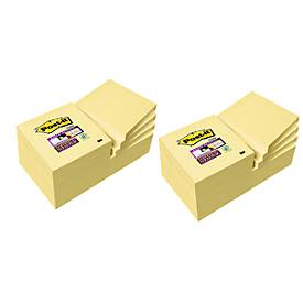 Post-it® Super Sticky Notes, 24 blocs de notes