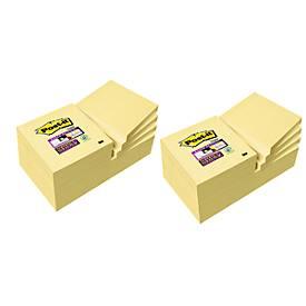 Post-it® Super Sticky Notes, 24 Notizblöcke