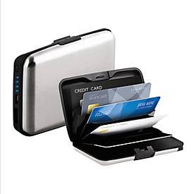 Powerbank RFID-Box mit Skimmingschutz 2.500 mAh, silber/schwarz