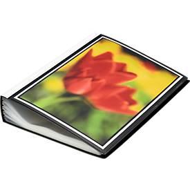 Präsentations-Sichtbuch mit Fronttasche, 100 Hüllen DIN A4