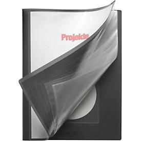 Präsentations-Sichtbuch mit Fronttasche und CD-Tasche
