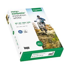 Premiumpapier Recyconomic EvolutionWhite (100er Weiße)