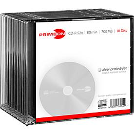 PRIMEON CD-R, 10er Slimcase