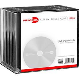 PRIMEON CD-R, 10er Slimcase