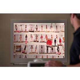 Projectiebord voor modulair whiteboardsysteem Skin, 1150 x 750 mm