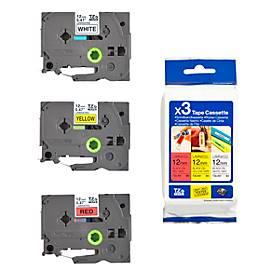 Promo Cassette de ruban TZe-31M3, 3 cassettes, 12 mm