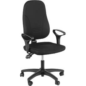 Prosedia Bürostuhl YOUNICO plus 3, ohne Armlehnen, mit halbhoher 3D-Rückenlehne