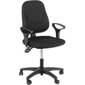 Prosedia Bürostuhl YOUNICO plus 3, ohne Armlehnen, mit niedriger 3D-Rückenlehne
