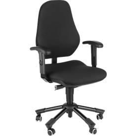 Prosedia Bürostuhl LEANOS IV, ohne Armlehnen, schwarz