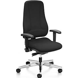 Prosedia Bürostuhl LEANOS V ERGO, ohne Armlehnen, Rückenlehnenhöhe 630 mm