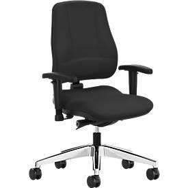 Prosedia Bürostuhl LEANOS V KOMFORT, ohne Armlehnen, Rückenlehnenhöhe 550 mm