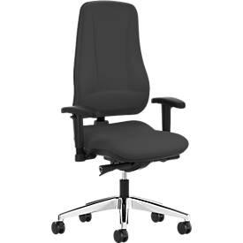 Prosedia Bürostuhl LEANOS V KOMFORT, ohne Armlehnen, Rückenlehnenhöhe 650 mm
