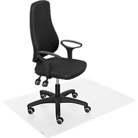 Prosedia Bürostuhl YOUNICO plus 3, mit Armlehnen, mit Bodenschutzmatte, Komplettset