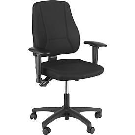 Prosedia Bürostuhl YOUNICO plus 5, ohne Armlehnen, halbhohe Rückenlehne