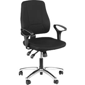 Prosedia Bürostuhl YOUNICO plus 8, halbhohe Rückenlehne, ohne Armlehnen, alupoliert