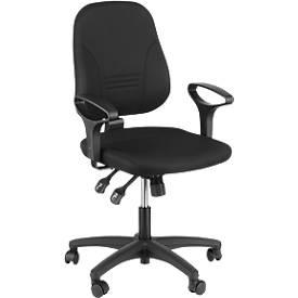 Prosedia Bürostuhl YOUNICO plus 8, ohne Armlehnen, niedrige Rückenlehne