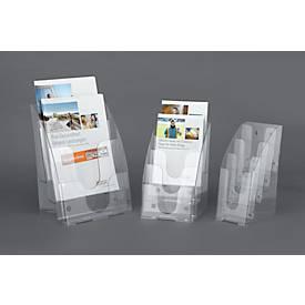 Prospektständer, 3 Fächer, DIN A4