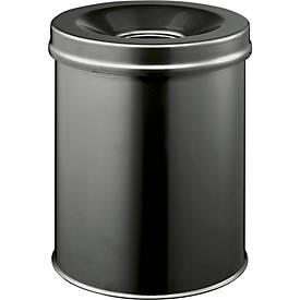 Prullenbak Safe, zwart