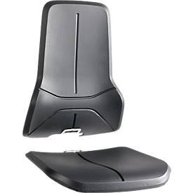 PU-Schaum-Polster für Basisstuhl Neon, schwarz