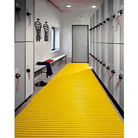 PVC-Badematte, 600 mm breit, gelb