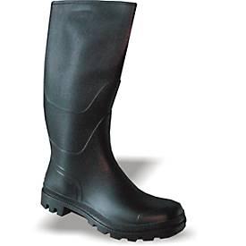 PVC-Stiefel, schwarz