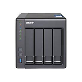 QNAP TS-431X - NAS-Server - 4 TB