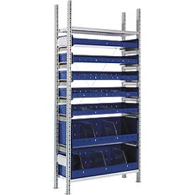 R 3000-basisstelling met 7 magazijnbakken