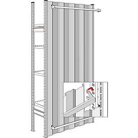 R3000- achterwand, verzinkt, voor sectielengte 1282 mm, h 2267 mm