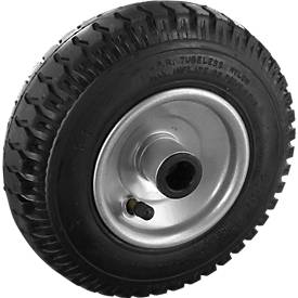 Rad mit pannensicheren Polyurethan-Reifen