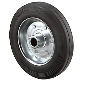 Rad, mit Vollgummireifen, 80 x 25 mm, 50 kg Tragkraft