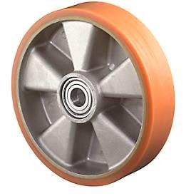 Rad, Polyurethan, 100x40 mm, ohne Feststeller