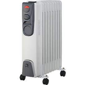 Radiateurs thermiques à l'huile, 9 ou 11 éléments, puissance 2000 ou 2400 Watt