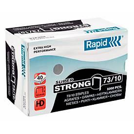 Rapid SuperStrong Heftklammern 73/10, heftet von 10 bis 30 Blatt, 5.000 Stück