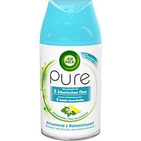 Raumspray Air Wick PURE, 250 ml, Nachfüller für Freshmatic-Max-Geräte, für bis zu 60 Tage, Duft Zitronenblüte