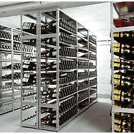 Rayonnage à vin, système à visser
