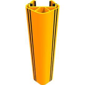 Regalanfahrschutz RackGuard (S), f. Regalbeinbreite 102 mm/Regalbeintiefe 45 mm, Kunststoff