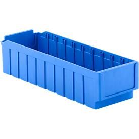 Regalkasten RK 521, 10 Fächer, Polystyrol, blau
