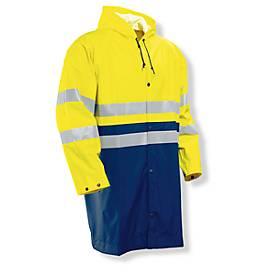 Regenjacke HV gelb/marine L