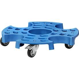 Reifenroller Tyre Trolley, für große Reifen, aus Polypropylen, Ø 700 mm, bis 180 kg