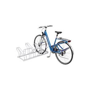 Reihen-Bügelparker, für Fahrräder, zweiseitig, zerlegt