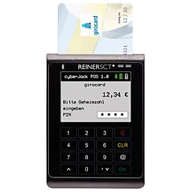 Reiner SCT Kartenterminal cyberJack POS, f. Girocard-Zahlungen, Bluetooth 4 LE