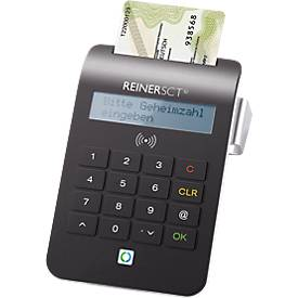 REINERSCT Chipkartenleser cyberjack RFID komfort, PIN-Eingabe, Multi-Applikationen
