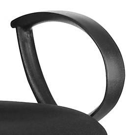 Ringarmleuningen voor bureaustoelen JUPITER, zwart