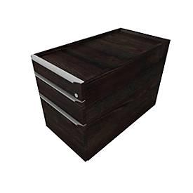 Rollcontainer QUANDOS BOX, 1 + 1 Schübe, HR-Auszug, B 430 x T 800 x H 570 mm