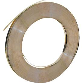 Rolle Stahlband, 16 x 0,5 mm, blank 240 m