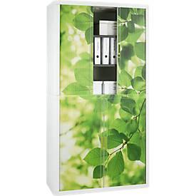 Rollladenschrank, Rollladen Blätter, Höhe 2040 mm