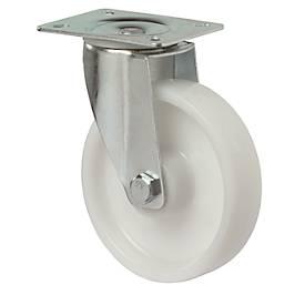 Roulette orientable, polyamide, montée sur roulements