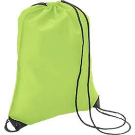 Rucksack Premium, aus Polyester, mit Zugkordeln